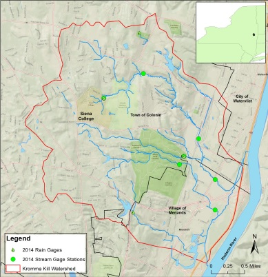Stormwater watershed