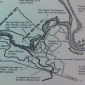 Old map of Sturgeon Pool